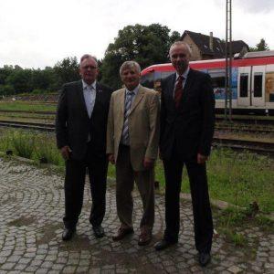 Besuch bei der Regiobahn