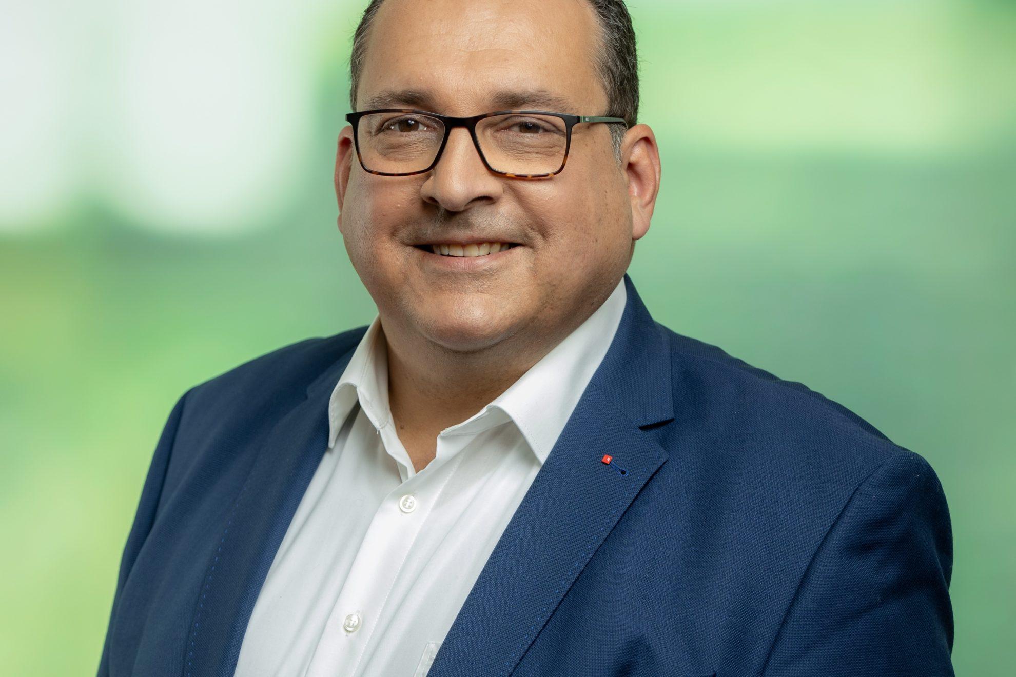 Landratskandidat Jens Geyer